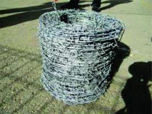 Jual Kawat Berduri Galvanis Panjang 40 Meter