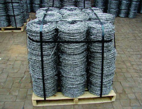 Kawat Duri Hotdip Galvanis Panjang 40 Meter Ready Stock Siap Kirim